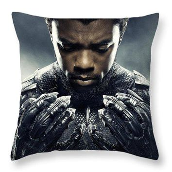 The Journey Of Tchalla - Throw Pillow