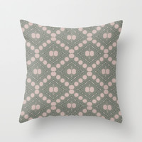 Wild flowers in the garden Throw Pillow by Lena Photo Art