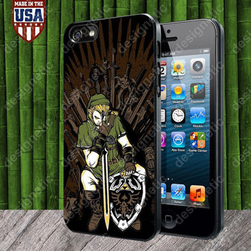 Game of Thrones Zelda Link Design case for iPhone 5, 5S, 4, 4S and Samsung Galaxy S3, S4