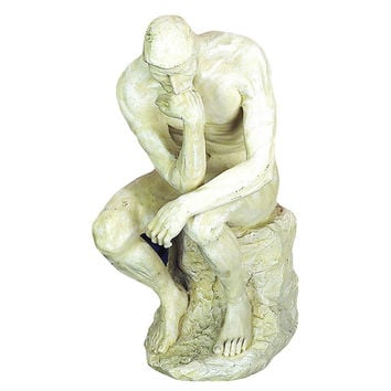 Polystone Thinker Statue For Great Decor Lovers