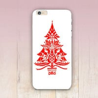 Christmas Tree Phone Case  - iPhone 6 Case - iPhone 5 Case - iPhone 4 Case - Samsung S4 Case - iPhone 5C - Tough Case - Matte Case