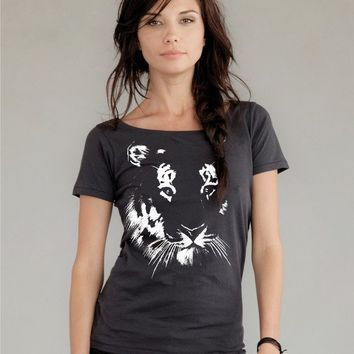 Tiger tshirt on Alternative Apparel Organic Cotton tee by rctees