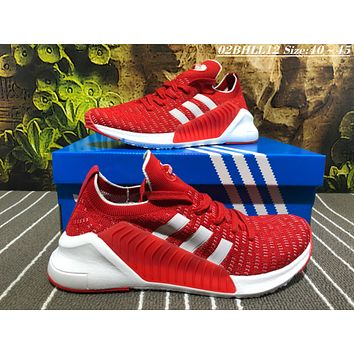 KUYOU A459 Adidas EQT Racing ADV Flyknit Running Shoes Red