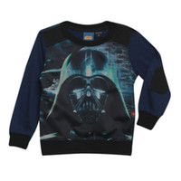 Star Wars Darth Vader Sublimation Toddler Crew Pullover