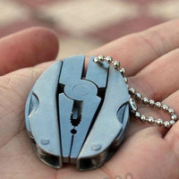 Portable Multi Function Folding Pocket Tool Plier Keychain Screwdriver = 5617237889
