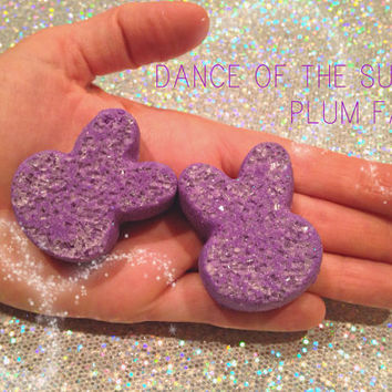 Dance of the Sugar Plum Fairy Bunny Bombs, Vegan, Organic, cruelty free, holidays, Christmas, Kids, Bath time