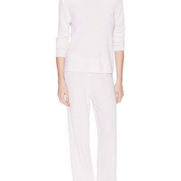 Thermal Cashmere Lounge Top and Pants