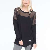 Young & Reckless Shutter Contested Womens Top Black  In Sizes