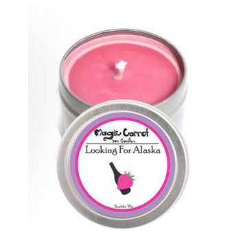 Looking for Alaska - 4 oz - Soy Candle