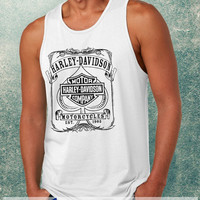 Harley Davidson Motorcycles Clothing Tank Top For Mens