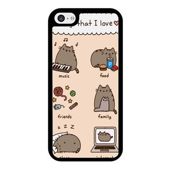 Pusheen Cat Wish iPhone 5/5S/SE Case
