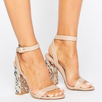 ASOS HAZARD Heeled Sandals at asos.com