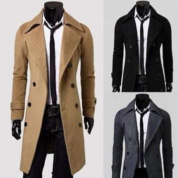 Men's Coats Jackets premium warm high quality long