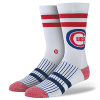 Stance Socks Cubs North Siders Sock in White M3110C5NOR