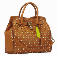 Candyspell — MK Studded Tote Brown