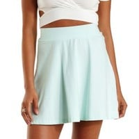 Bay High-Waisted Skater Skirt by Charlotte Russe