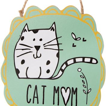 Cat Mom Ornament with Magnet Christmas Tree Ornament