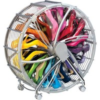 Shoe Wheel Organizer with Dust Cover at HSN.com