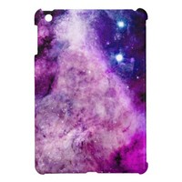 Galaxy iPad Mini Case Stars Nebula Purple