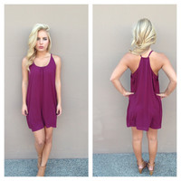 Ruby Halter T Back Dress