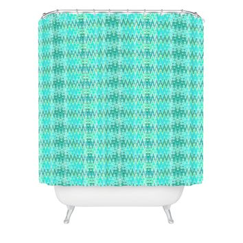 Ingrid Padilla Beauty Blue Shower Curtain