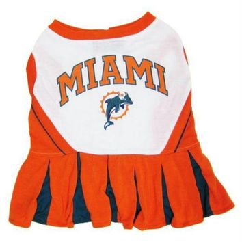 CREYON Miami Dolphins Cheerleader Dog Dress