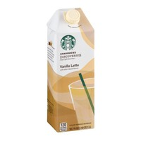 Starbucks Discoveries Iced Cafe Favorites Vanilla Latte, 50.7 FL OZ - Walmart.com