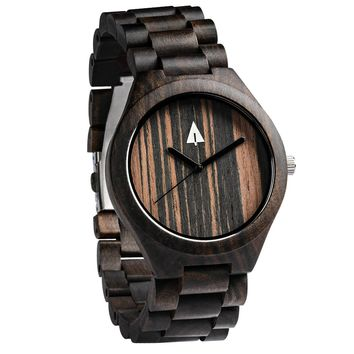 All Wood Watch // All Ebony 37