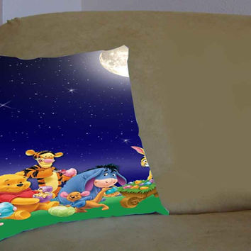 winnie the pooh - Pillow Case, Pillow Cover, Custom Pillow Case **