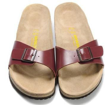 auguau Birkenstock Madrid Brown
