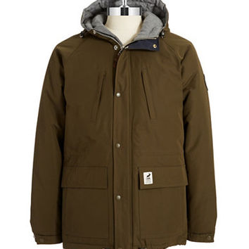 Fat Moose Hooded Army Jacket