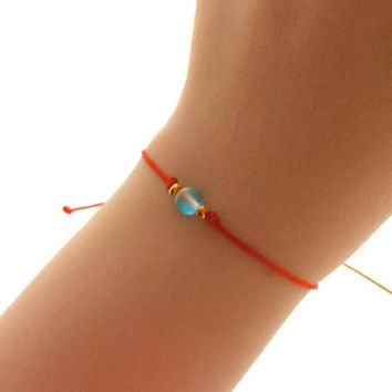 Thin Red String Bracelet - Red Cord Bracelet - Best Friend Gift - Lucky Bracelet - Red Bracelet
