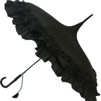 Soake Frilled Pagoda Black