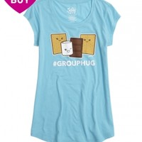 SMORES GRAPHIC LONG TEE | GIRLS GRAPHIC TEES CLOTHES | SHOP JUSTICE