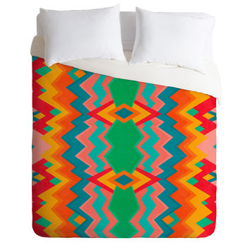 Elisabeth Fredriksson Happy Land Pattern Duvet Cover