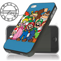 mario bros and friend iPhone 4s iPhone 5 iPhone 5s iPhone 6 case, Samsung s3 Samsung s4 Samsung s5 note 3 note 4 case, Htc One Case