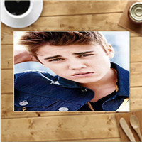 Justin Bieber Photoshoot Placemats