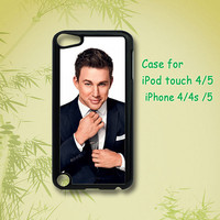 Channing Tatum - ipod 5 case ,ipod 4 case , iphone 4 case , iphone 5 case , ipod case, ipod touch case