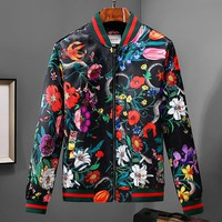 Boys & Men Gucci Fashion Casual Cardigan Jacket Coat