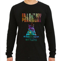 fall out boy paramore  for long sleeved Mens and long sleeved Girls