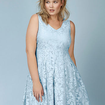88512eceff1 Rebel Wilson for Torrid Jacquard Skater from Torrid