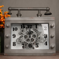Vintage Living Room Stylish Decoration Home Clock [6283016966]