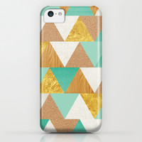 Triangles iPhone & iPod Case by Cat Coquillette