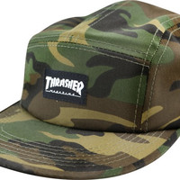Thrasher Mag Logo 5Panel Hat Adjustible Camo