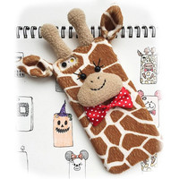 Plush Giraffe iPhone Case
