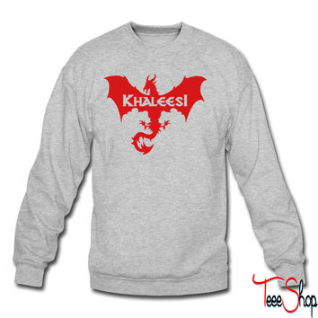 khaleesi mother of dragons crewneck sweatshirt