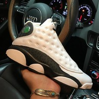 Air Jordan 13 Retro Love & Respect 888164-112 XIII White Black Men's Height Increasing Shoes Fashion Shoes Top Quality With Original Box US7-1