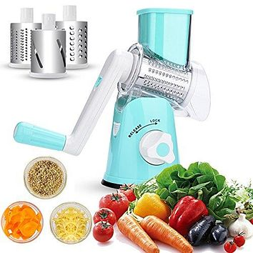 Stainless Steel Interchangeable Multi-Purpose Rotary Slicer