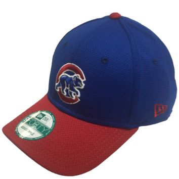 Chicago Cubs Walking Bear Logo Performance 9FORTY Adjustable Hat By New Era