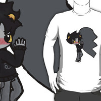 Karkat left by Bliny